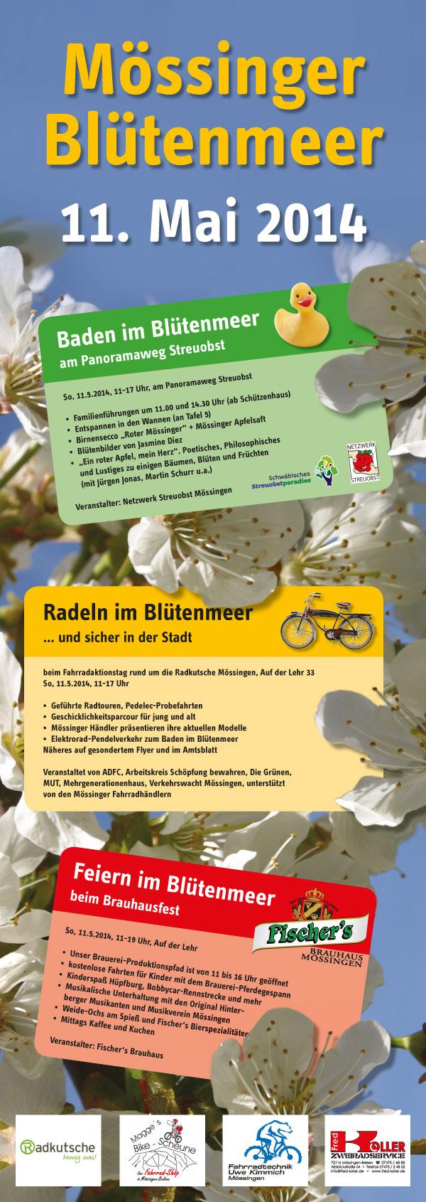 Plakat Blütenmeer