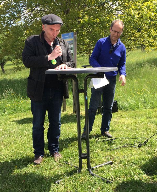 Jürgen Jonas und Martin Schurr