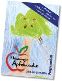 Programmheft zur Mössinger Apfelwoche 2014