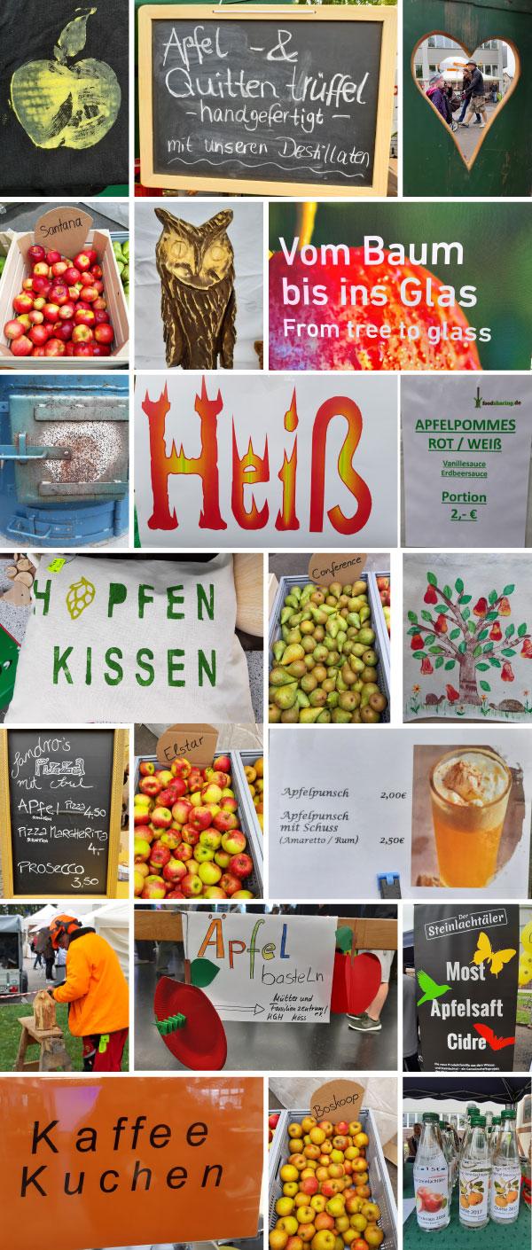 Impressionen vom 13. Mössinger Apfelfest
