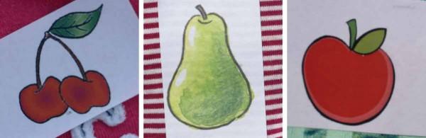 Kirsche Birne, Apfel - in welche Gruppe gehörst du?