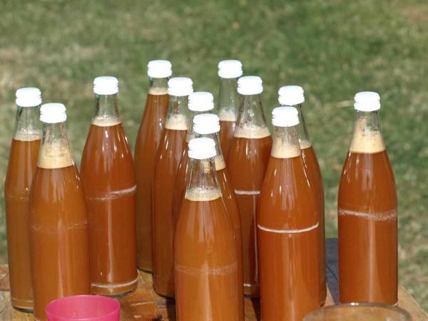 Apfelsaft-Armada