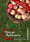 Programmheft der Mössinger Apfelwoche 2015