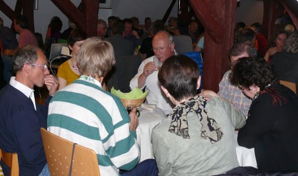 Gut gefüllt: Mössinger Kulturscheune