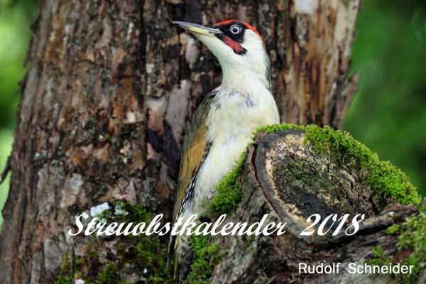 Ab sofort erhältlich: Der Streuobstkalender 2018 von Rudolf Schneider