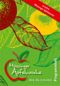 Programmheft Apfelwoche 2021